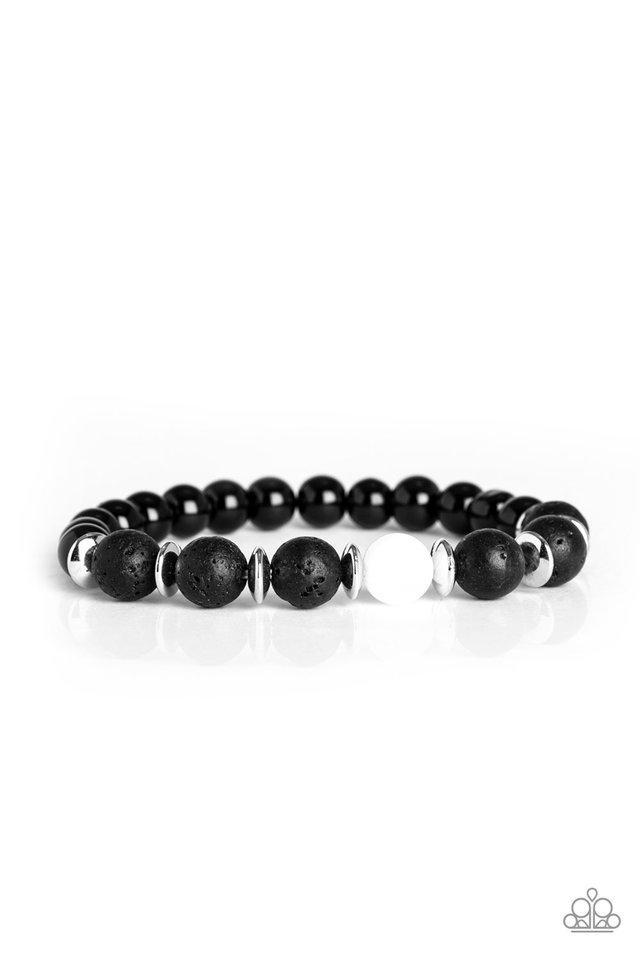 Intent - White - Paparazzi Bracelet Image