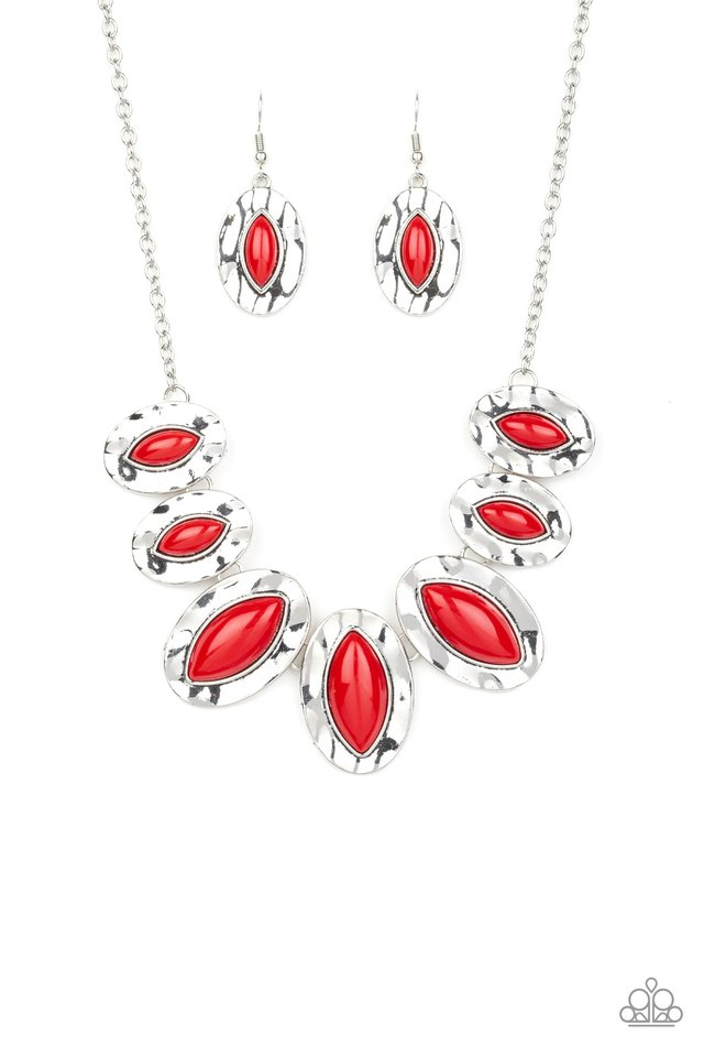 Terra Color - Red - Paparazzi Necklace Image