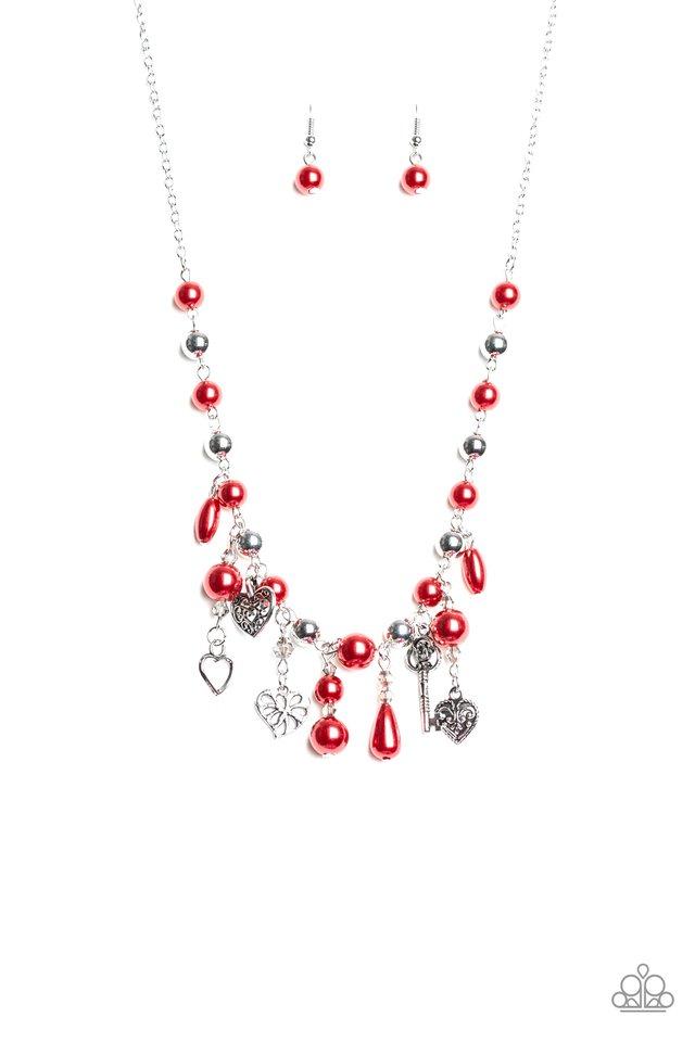 Renaissance Romance - Red - Paparazzi Necklace Image