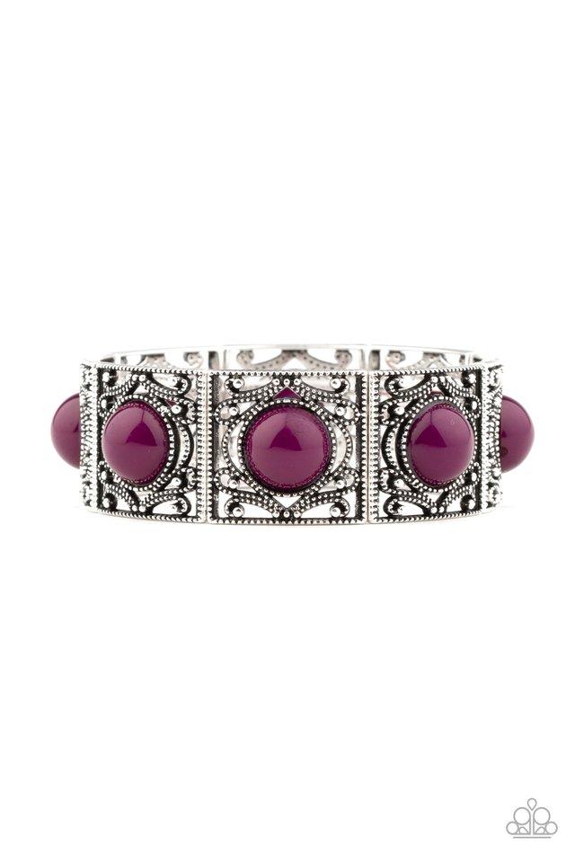 Victorian Dream - Purple - Paparazzi Bracelet Image