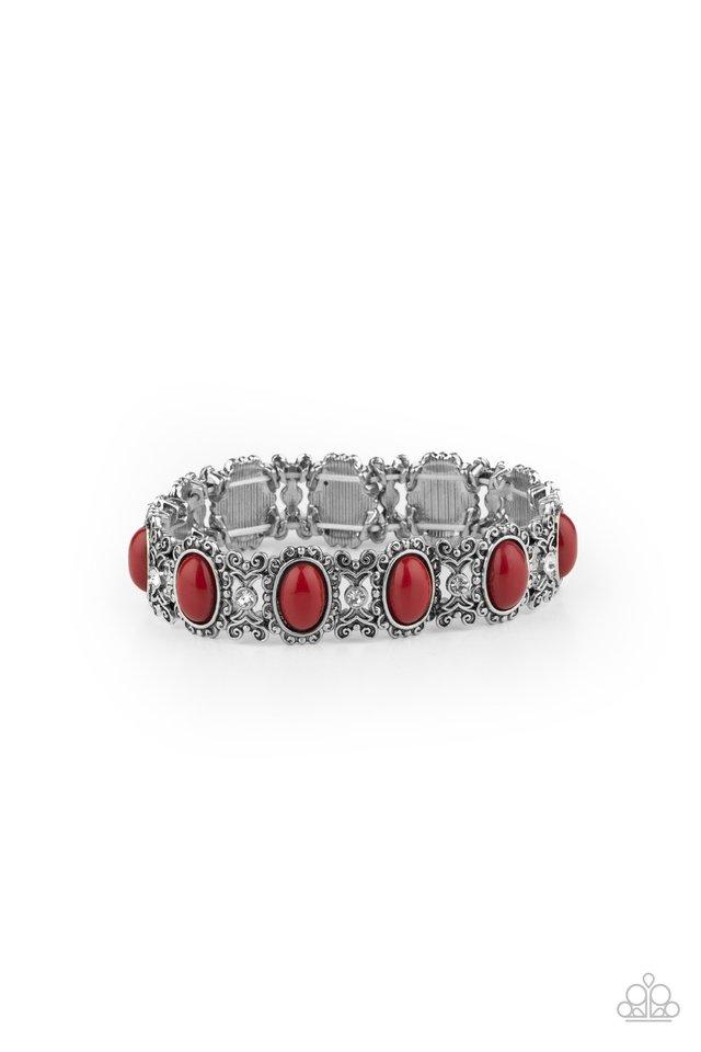 A Piece of Cake - Red - Paparazzi Bracelet Image