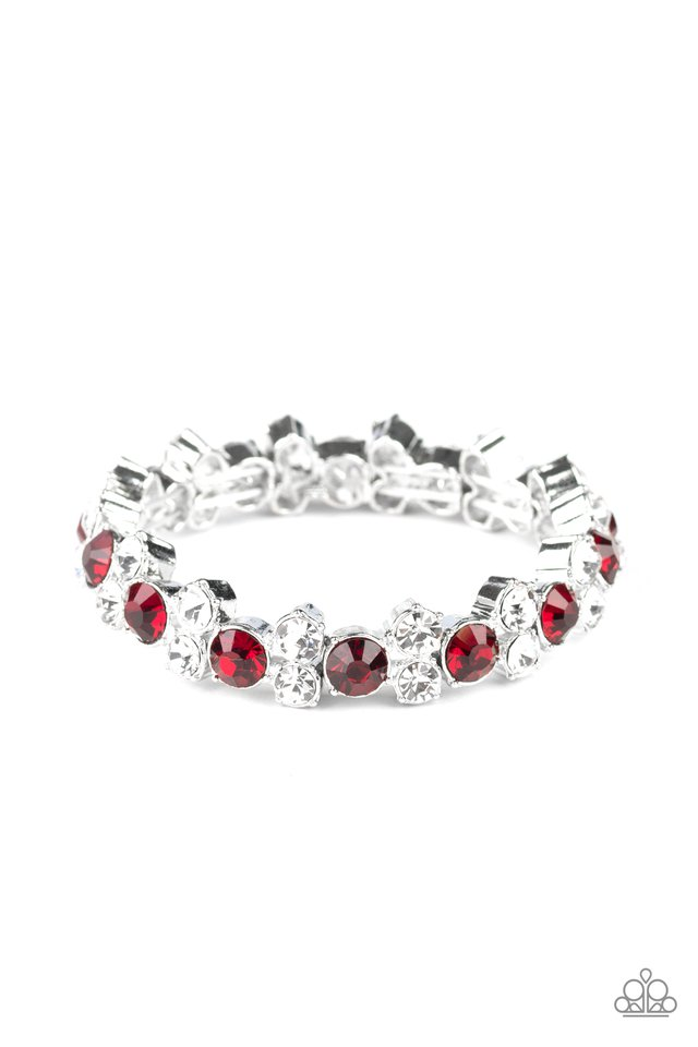 Here Comes The BRIBE - Red - Paparazzi Bracelet Image