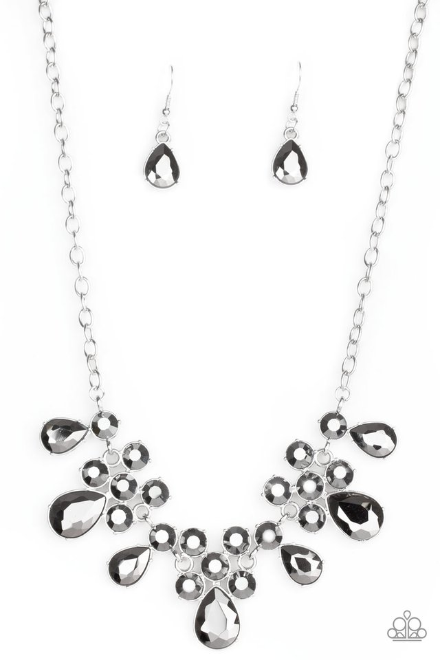 Debutante Drama - Silver - Paparazzi Necklace Image