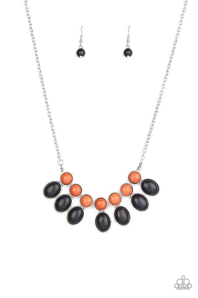 Environmental Impact - Black - Paparazzi Necklace Image