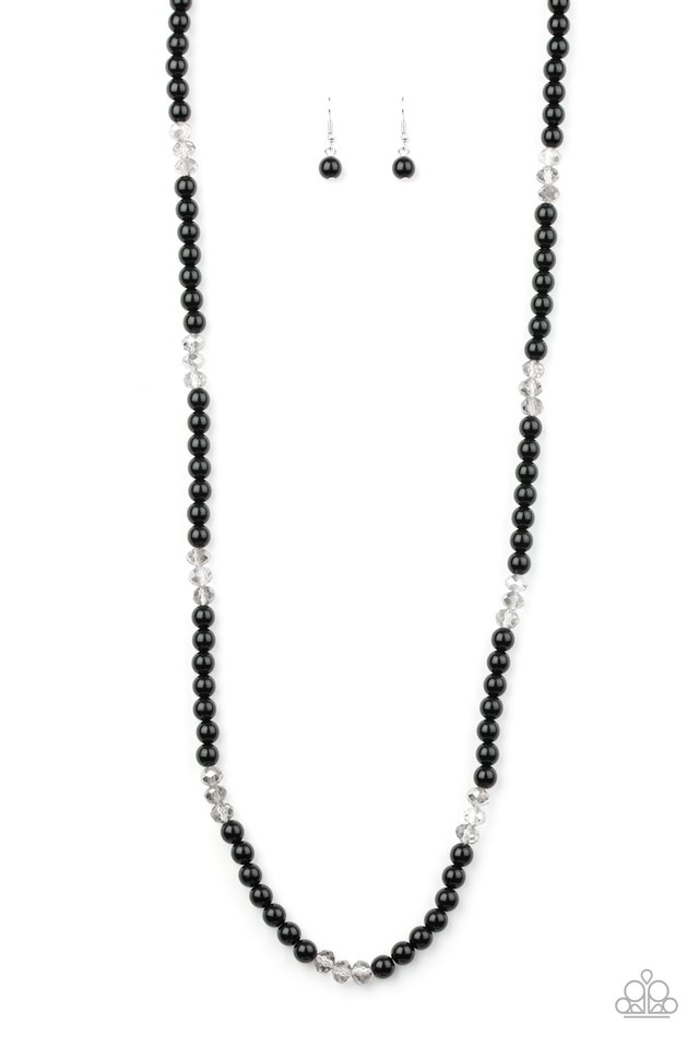 Girls Have More FUNDS - Black - Paparazzi Necklace Image