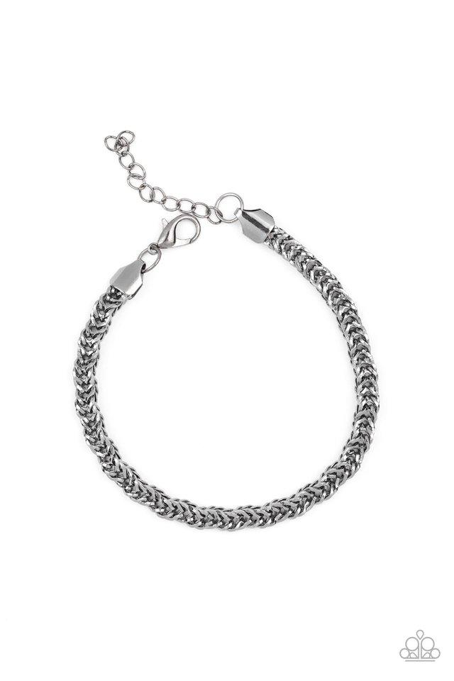 Fighting Chance - Black - Paparazzi Bracelet Image