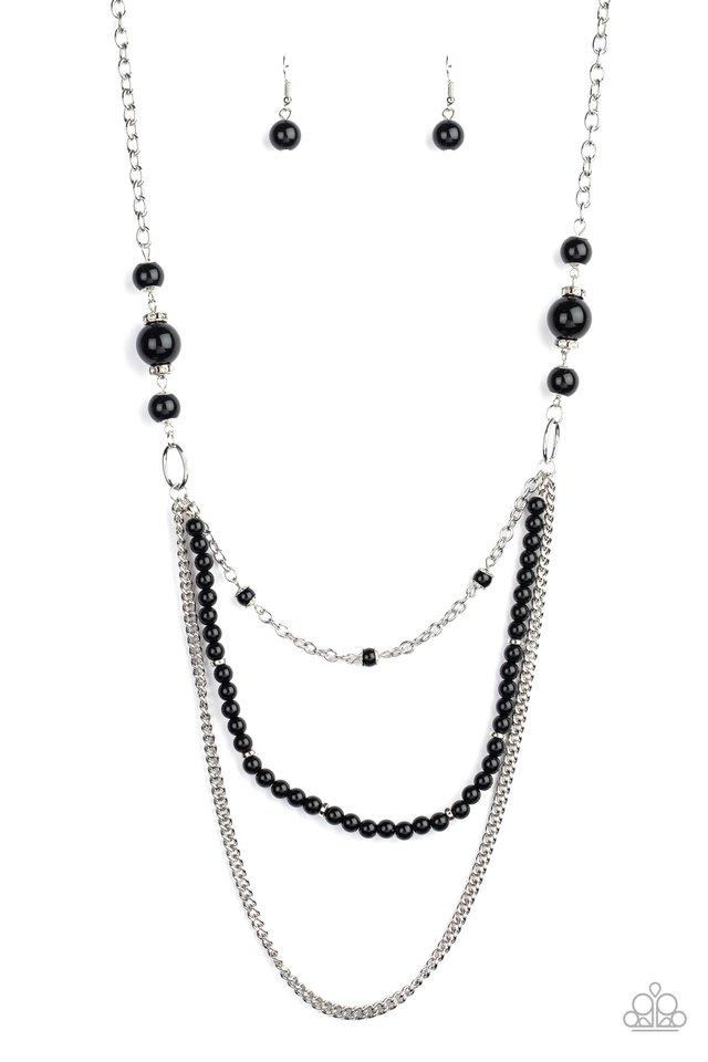 Very Vintage - Black - Paparazzi Necklace Image