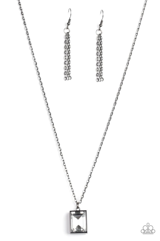 Pro Edge - Black - Paparazzi Necklace Image