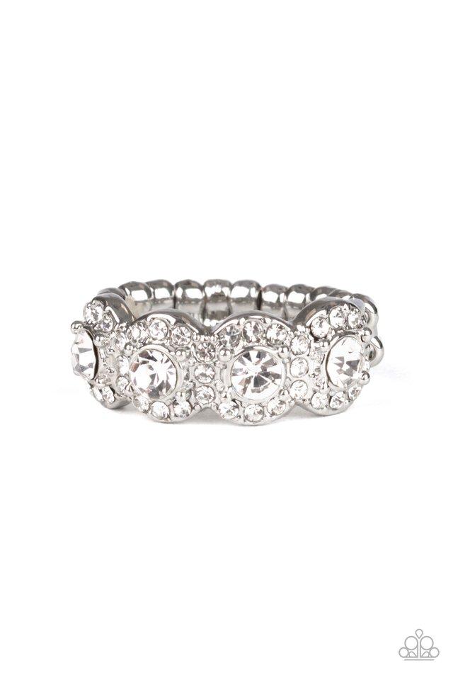 Ever Enlightened - White - Paparazzi Ring Image
