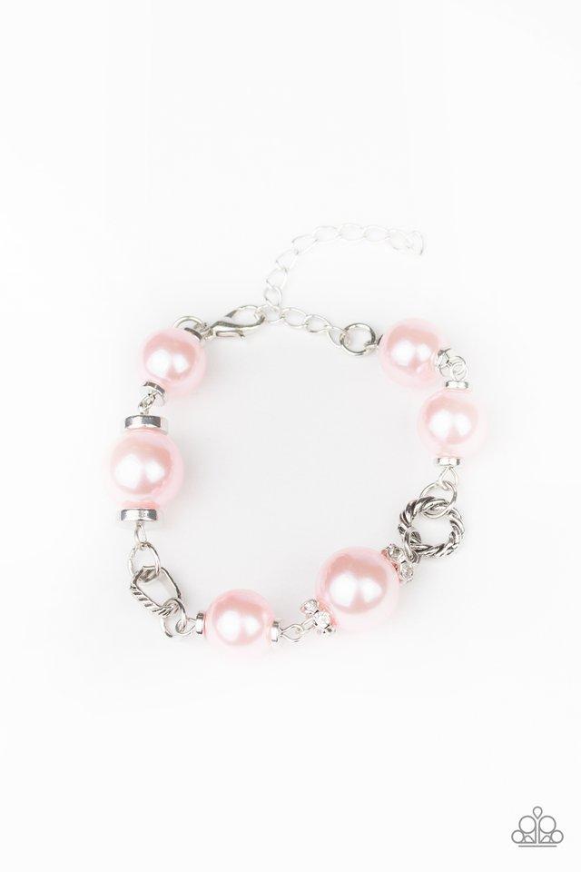Boardroom Baller - Pink - Paparazzi Bracelet Image