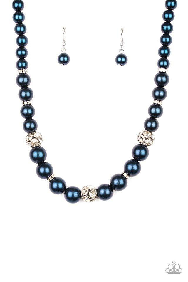 Rich Girl Refinement - Blue - Paparazzi Necklace Image