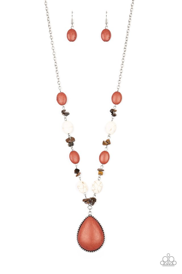 Desert Diva - Multi - Paparazzi Necklace Image
