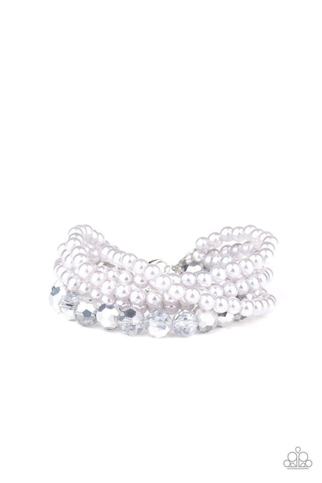 Refined Renegade - Silver - Paparazzi Bracelet Image