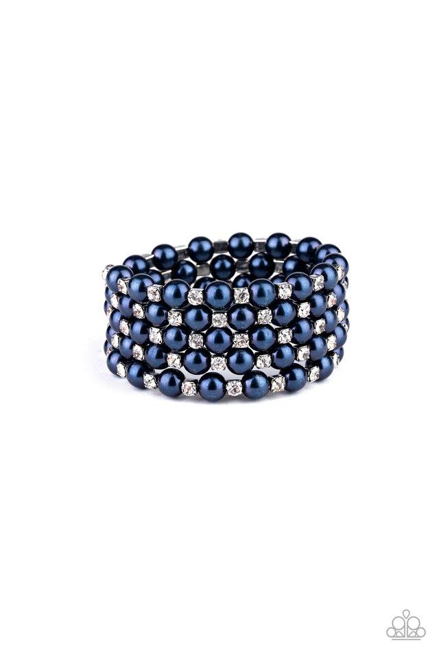 Rich Royal - Blue - Paparazzi Bracelet Image