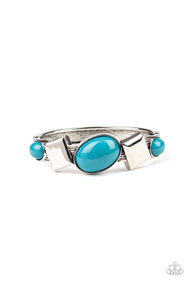 Abstract Appeal - Blue - Paparazzi Bracelet Image
