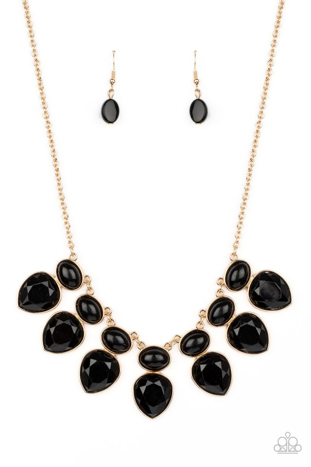 Modern Masquerade - Black - Paparazzi Necklace Image
