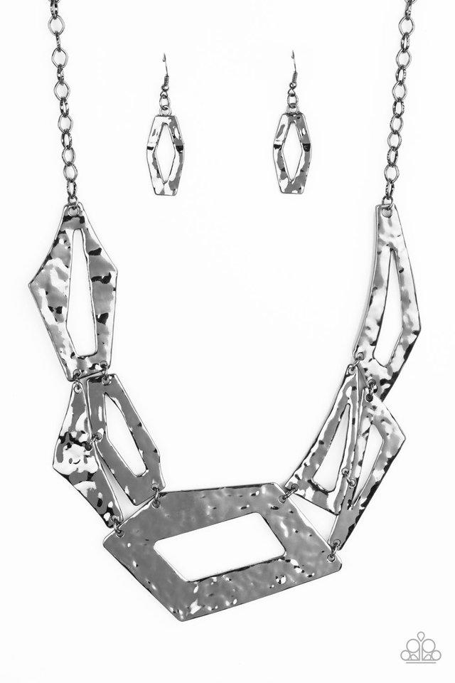Break The Mold - Black - Paparazzi Necklace Image