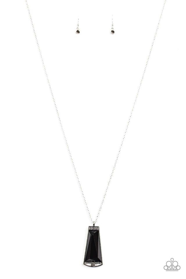 Empire State Elegance - Black - Paparazzi Necklace Image