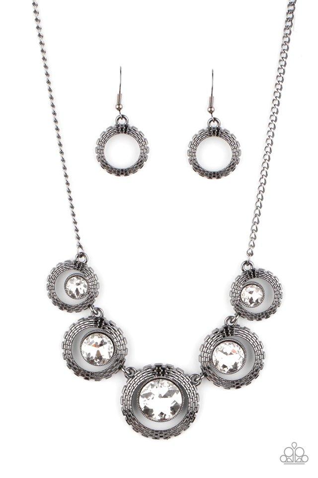PIXEL Perfect - Black - Paparazzi Necklace Image
