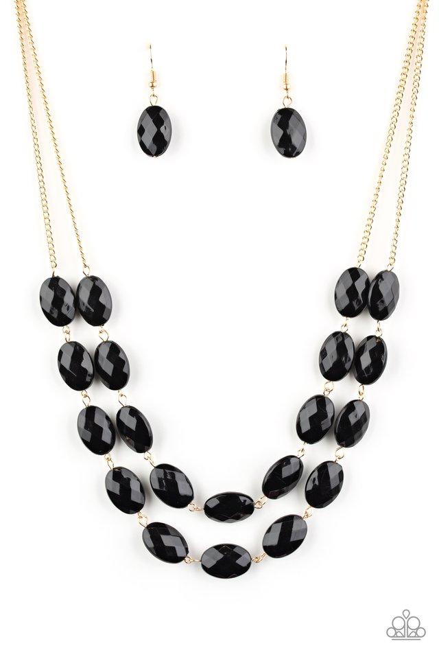 Max Volume - Black - Paparazzi Necklace Image