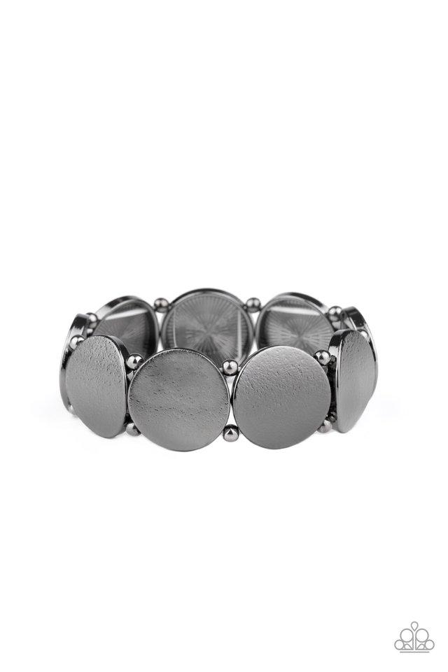 Metallic Spotlight - Black - Paparazzi Bracelet Image