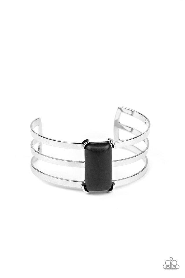 Rural Recreation - Black - Paparazzi Bracelet Image