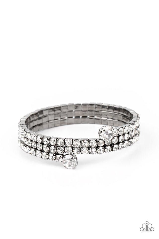 After Party Princess - Black - Paparazzi Bracelet Image