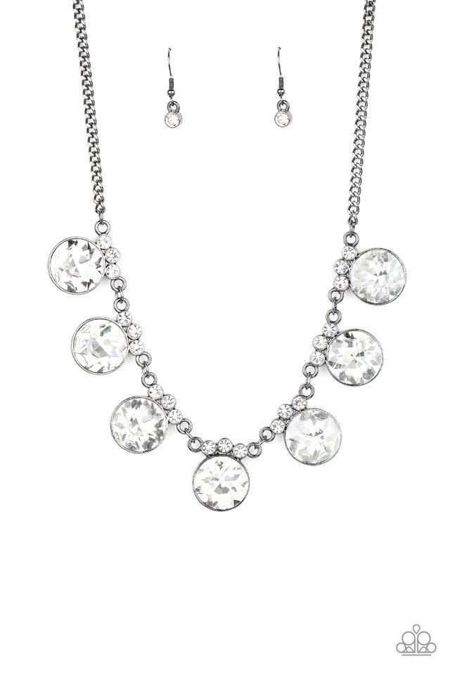 GLOW-Getter Glamour - Black - Paparazzi Necklace Image