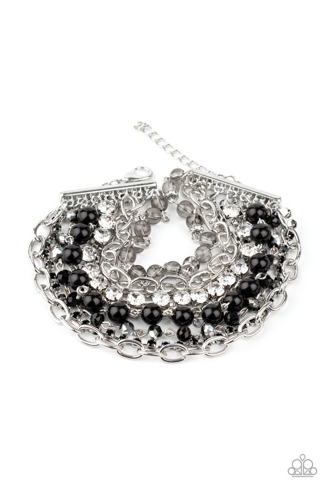 Heiress Hustle - Black - Paparazzi Bracelet Image