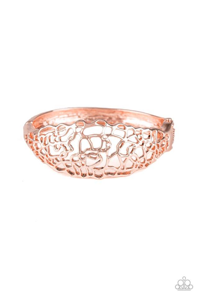 Airy Asymmetry - Rose Gold - Paparazzi Bracelet Image