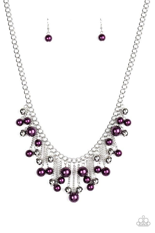 City Celebrity - Purple - Paparazzi Necklace Image