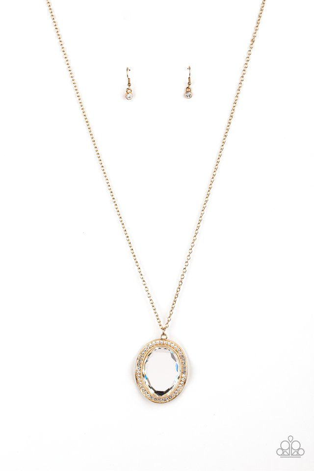 REIGN Them In - Gold - Paparazzi Necklace Image