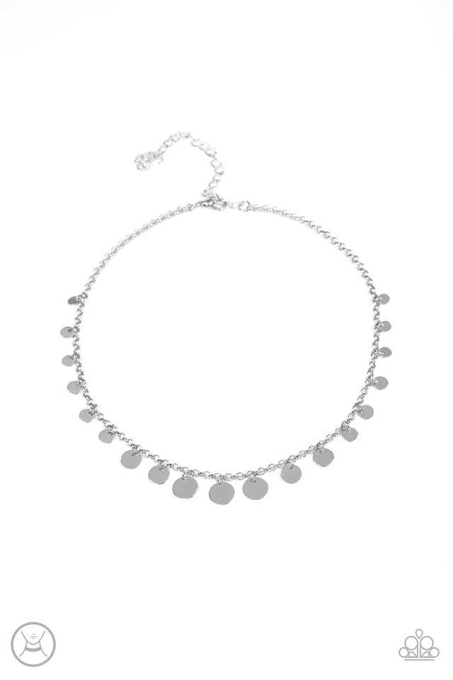Minimal Magic - Silver - Paparazzi Necklace Image