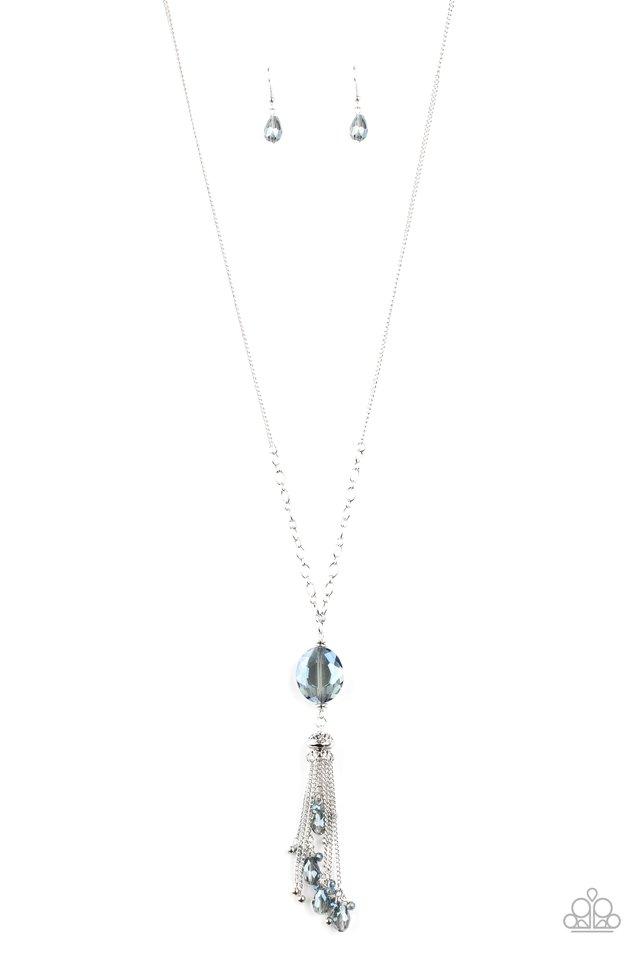 Fringe Flavor - Blue - Paparazzi Necklace Image