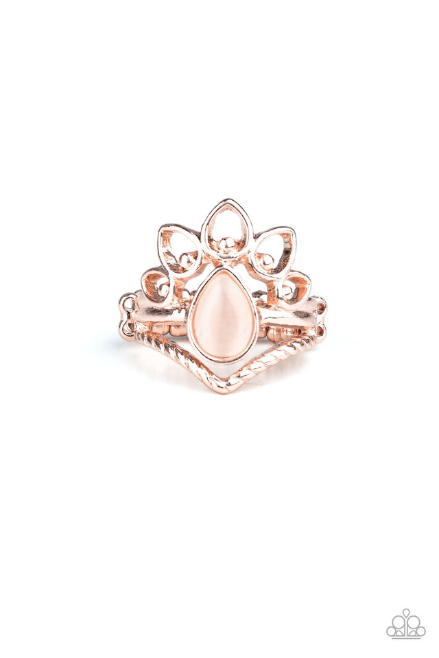 Serene Scene - Rose Gold - Paparazzi Ring Image