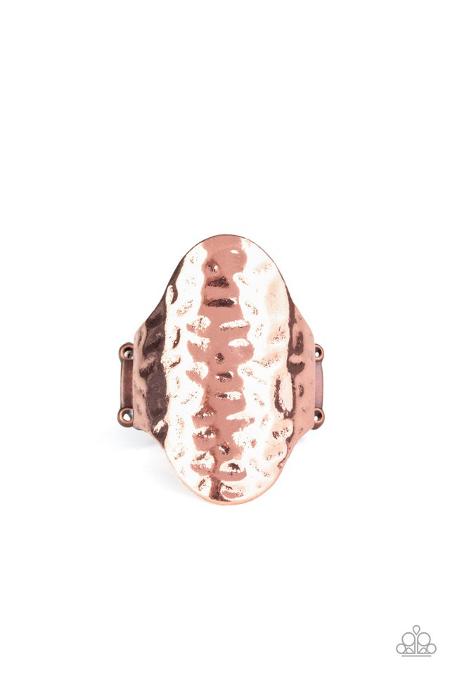 Revamped Ripple - Copper - Paparazzi Ring Image
