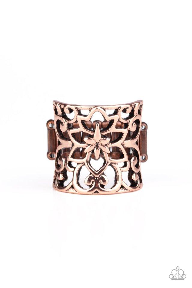Guru Garden - Copper - Paparazzi Ring Image