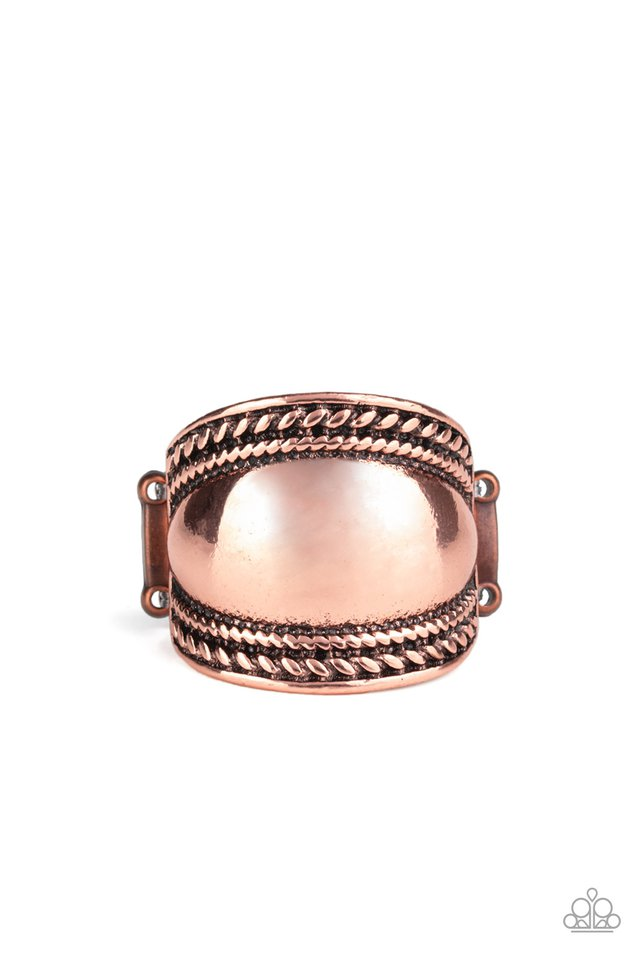 Bucking Trends - Copper - Paparazzi Ring Image