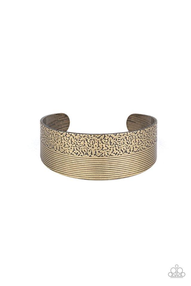 Mixed Vibes - Brass - Paparazzi Bracelet Image