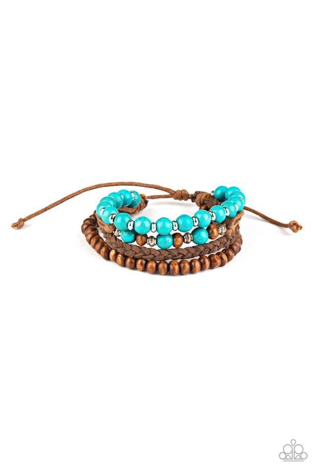 Renewable Energy - Blue - Paparazzi Bracelet Image