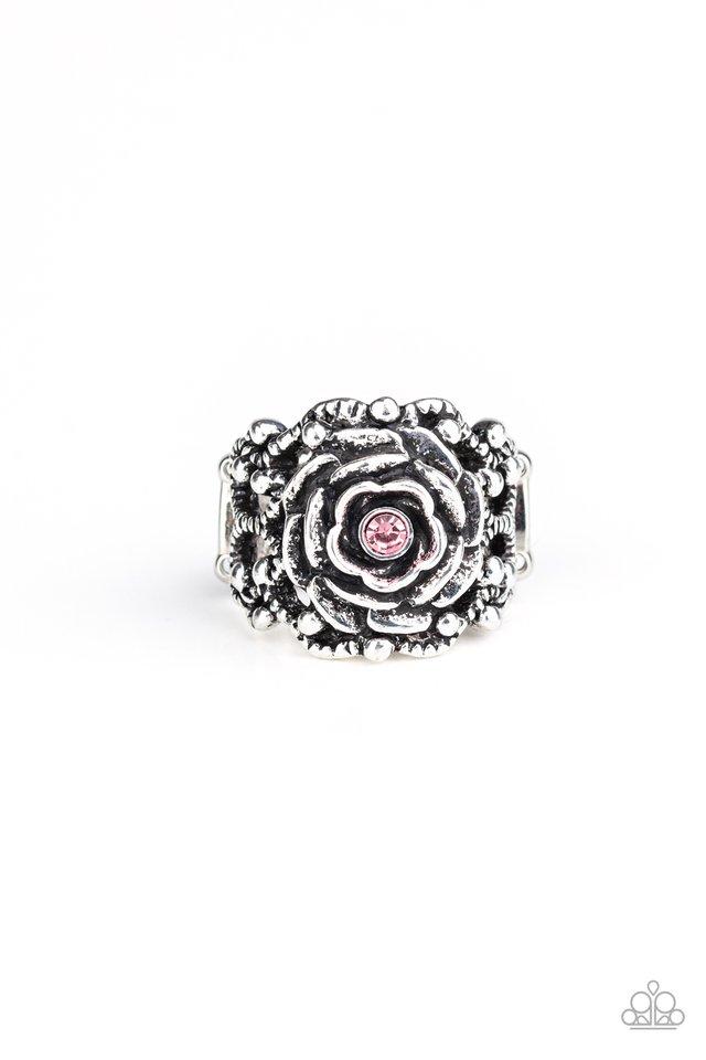 Rose Garden Royal - Pink - Paparazzi Ring Image