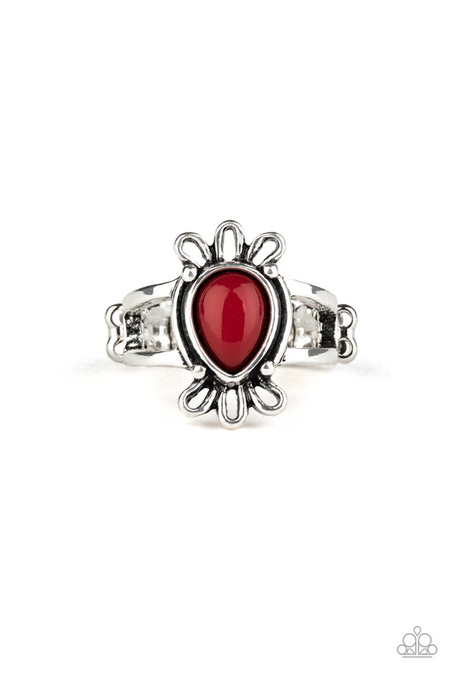 Tranquil Tide - Red - Paparazzi Ring Image