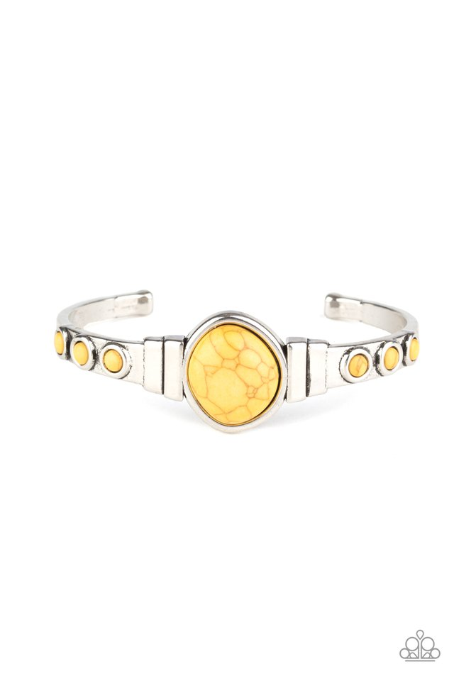 Spirit Guide - Yellow - Paparazzi Bracelet Image