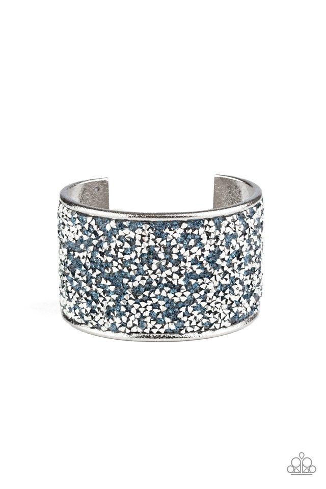 Stellar Radiance - Blue - Paparazzi Bracelet Image