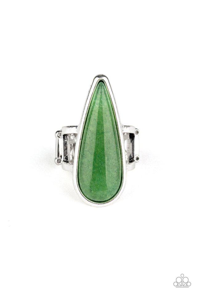 Spiritual Awakening - Green - Paparazzi Ring Image