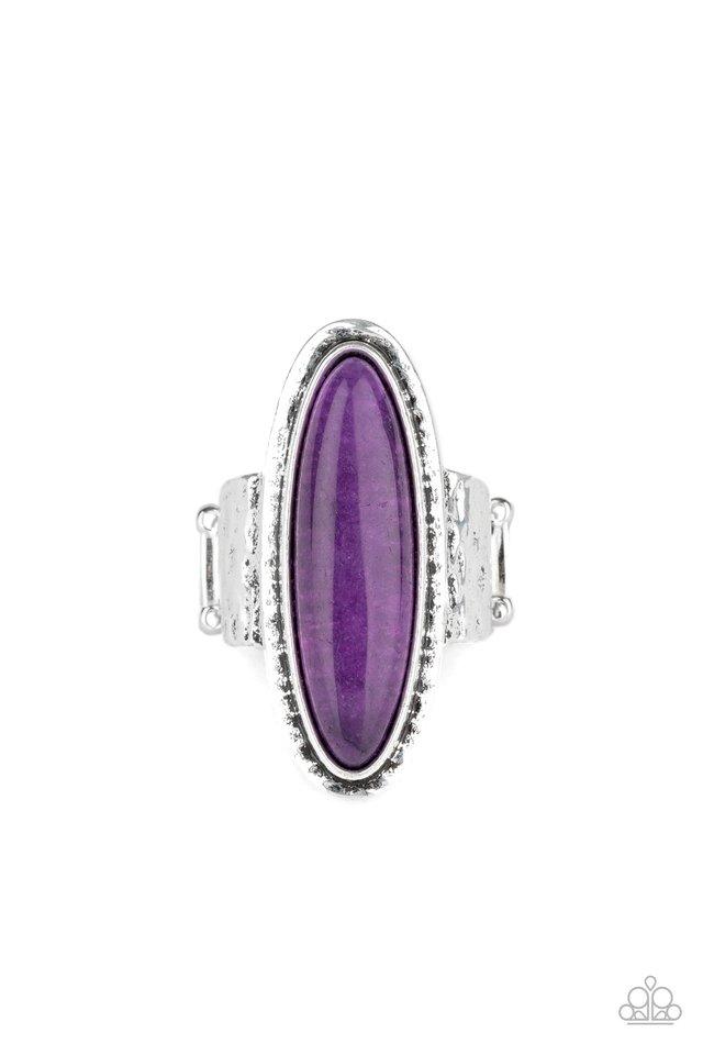 Stone Mystic - Purple - Paparazzi Ring Image