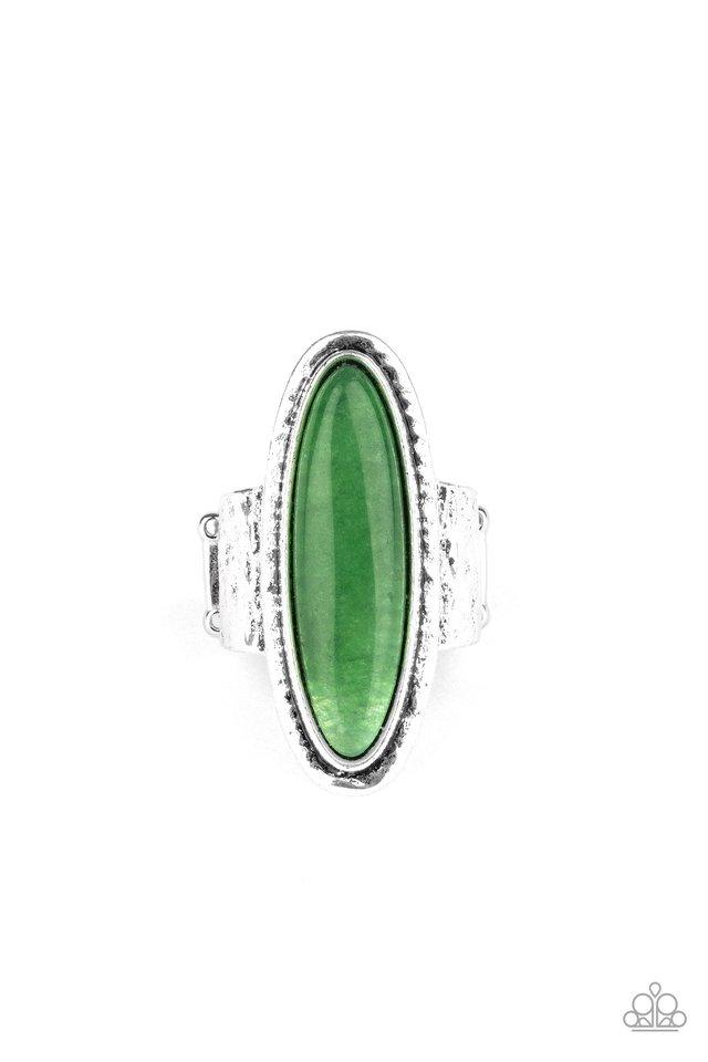 Stone Mystic - Green - Paparazzi Ring Image