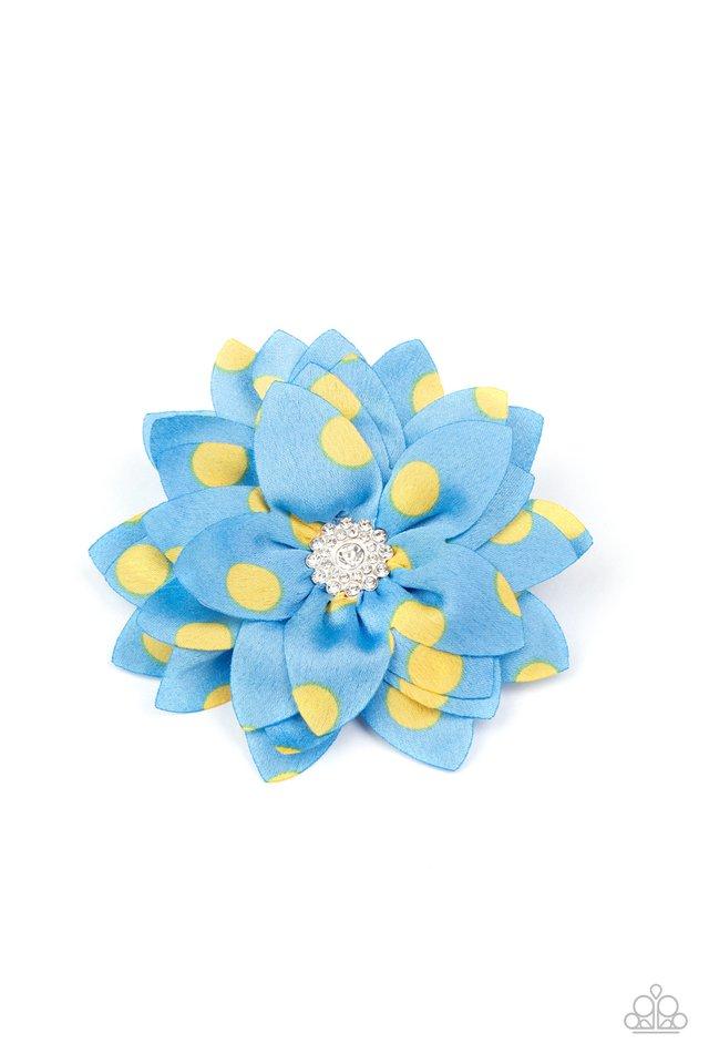 Silk Gardens - Blue - Paparazzi Hair Accessories Image