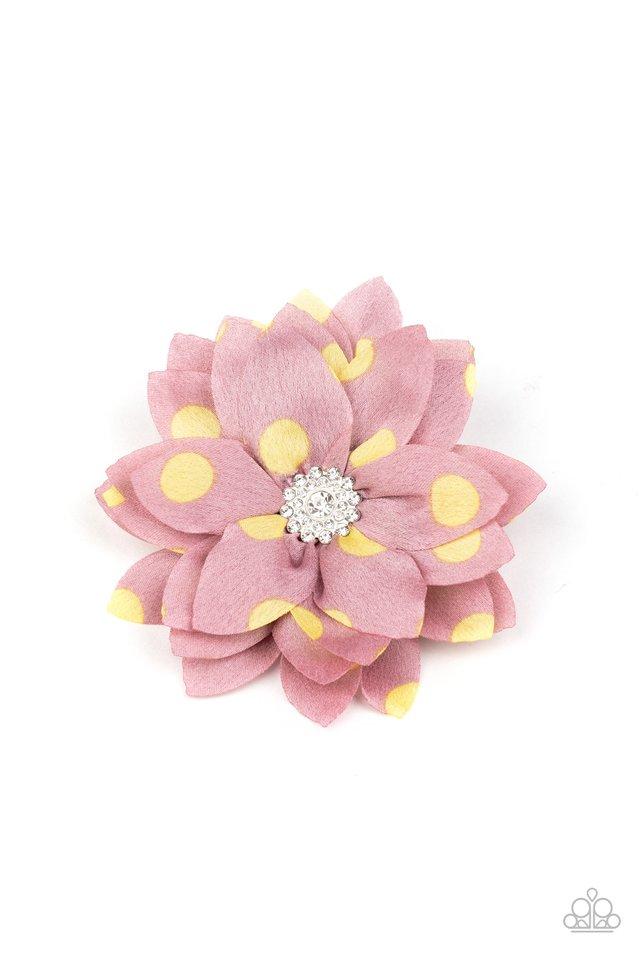 Silk Gardens - Pink - Paparazzi Hair Accessories Image