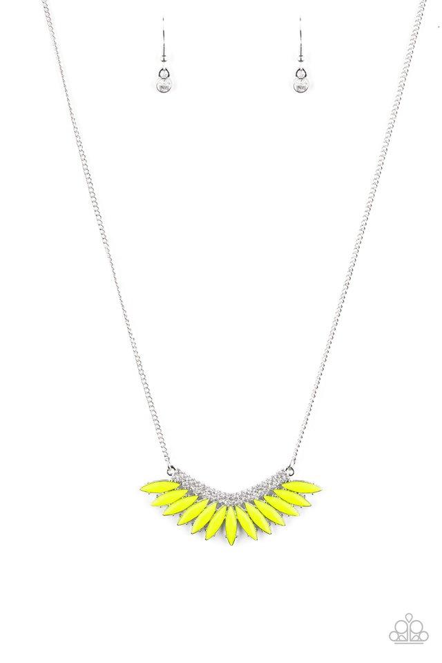 Extra Extravaganza - Yellow - Paparazzi Necklace Image